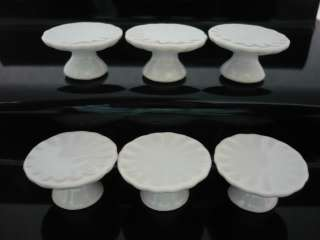 6x25 mm White Stand Cake Dollhouse Miniatures Food Supply Deco