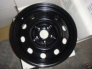 06 up 17x7.5 Steel Wheel Black for Ford Crown Victoria