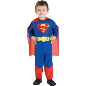 By Rubies Costumes Superman Toddler Costume / Red/Blue   Size Toddler