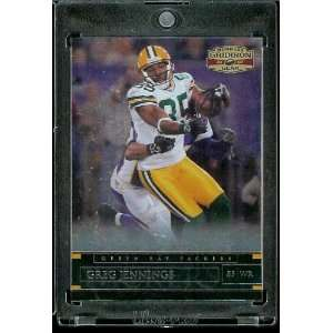 com 2007 Donruss Gridiron Gear # 22 Greg Jennings   Green Bay Packers
