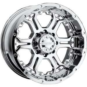 Gear Alloy Recoil 20x9 Chrome Wheel / Rim 8x6.5 with a 10mm Offset and