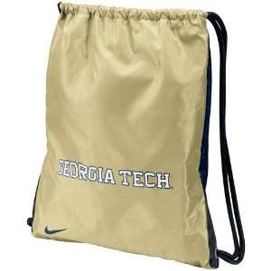 Nike Georgia Tech Yellow Jackets Gold Navy Blue Home & Away Gym Bag