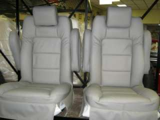 Chevy/Ford Conversion Van/RV GRAY Leather Bucket Seats